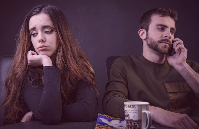 boyfriend not worried about losing girlfriend